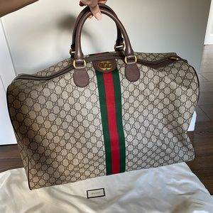 Authentic Gucci Ophidia GG Large Duffel